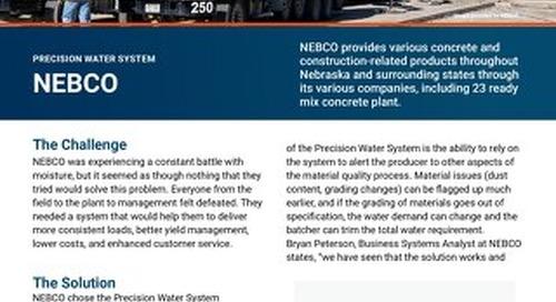NEBCO Precison Water System Case Study