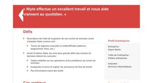 Sopa Steria Case Study (French)