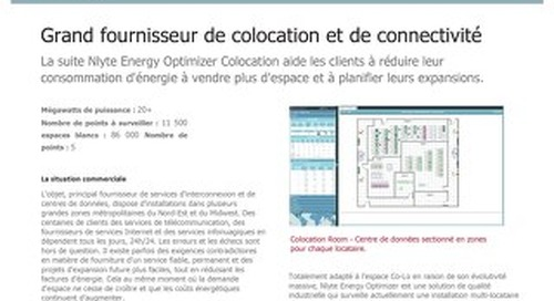 Large Colocation and Connectivity Provider Case Study (French)