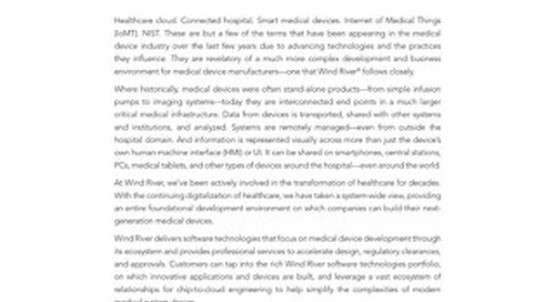 Solving the Challenges in Modernization of Medical Devices