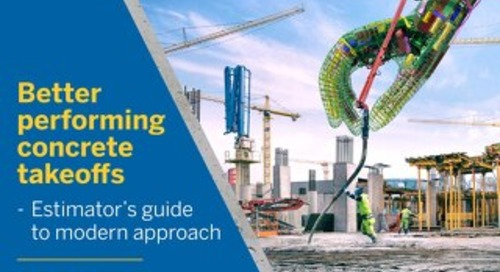 Improve Your Concrete Takeoffs - Free Ebook