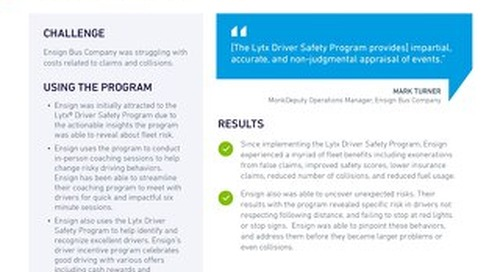 How Lytx Helped 5 Fleets Improve Safety