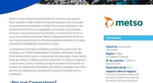 Estudio de caso Metso: La formación de los empleados como motor de la innovación