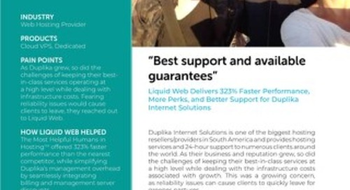 """""""Best support and available guarantees"""" - Duplika Case Study"""