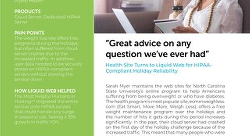 """""""Great advice on any question we've ever had"""" - Weigh Less Case Study"""