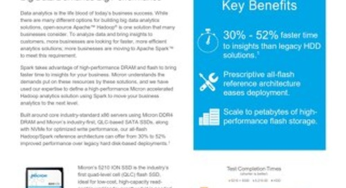 Big Data Demands Big Performance with Micron