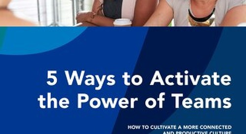 5 Ways to Activate the Power of Teams
