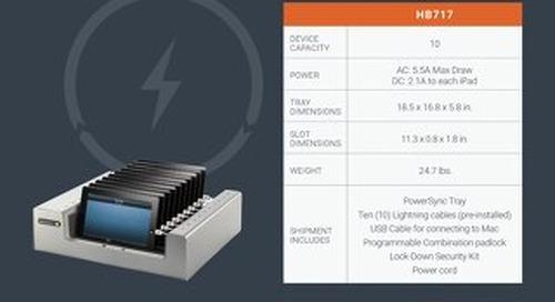PowerSync Tray Spec Sheet