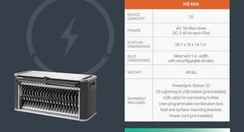 PowerSync+ Station Spec Sheet