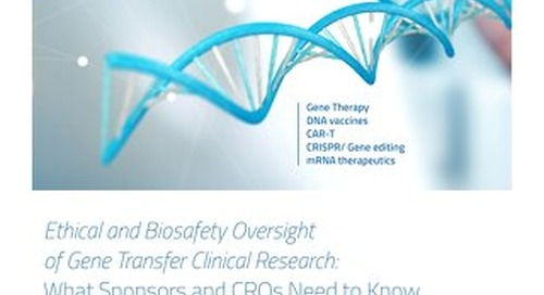 Ethical Biosafety Oversight of Gene Transfer Research