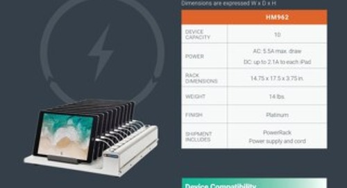 PowerRack Spec Sheet