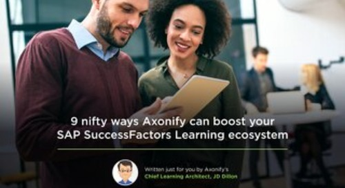 9 nifty ways Axonify can boost your SuccessFactors learning ecosystem