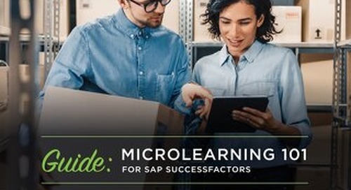 Microlearning 101 for SAP SuccessFactors