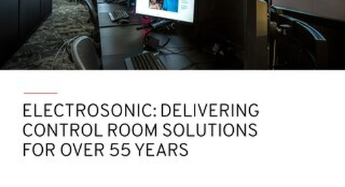 Delivering Control Room Solutions for over 55 Years