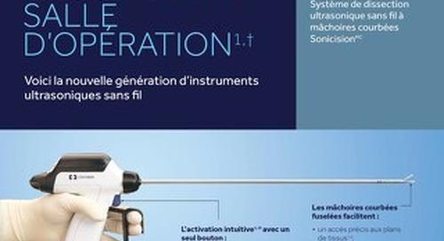 Voici la nouvelle génération d'instruments ultrasoniques sans fil