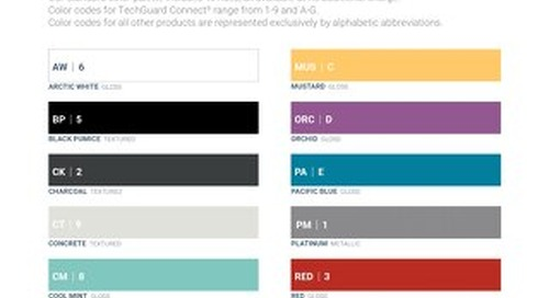 Color Palette Codes