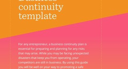 ATB Business Continuity Plan Template