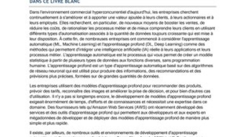 AIML IDC Whitepaper French
