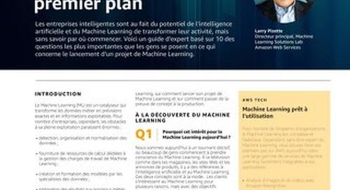 Comment démarrer avec  le Machine Learning :  Avis d'expert de  premier plan