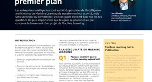 AIML Intel Tech Brief French