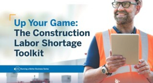 The Construction Labor Shortage Toolkit - 2019