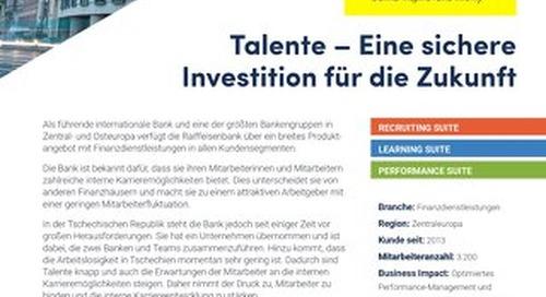 Fallstudie Raiffeisen Bank: Talente – Eine sichere Investition für die Zukunft