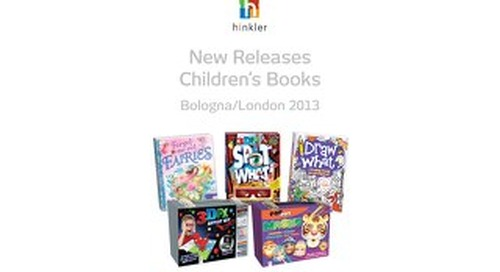 hinkler new releases London and Bologna Bookfairs 2013