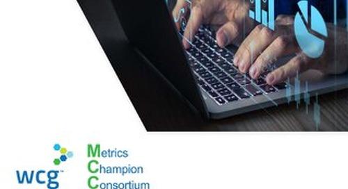 WCG MCC Vendor Oversight Quality Metrics Infosheet