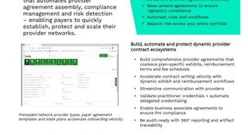Enterprise Contract Management for Healthcare