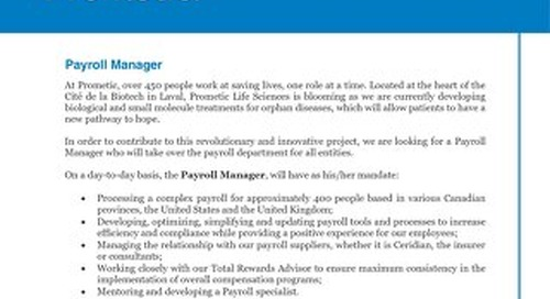 Payroll Manager