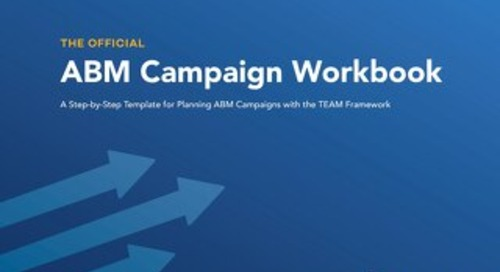 The Official ABM Campaign Workbook