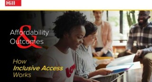 Affordability & Outcomes: How Inclusive Access Works?