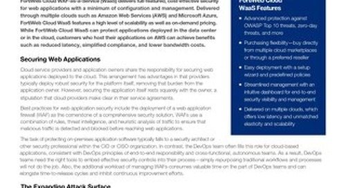 Cloud-Native Solution for Web Application Security