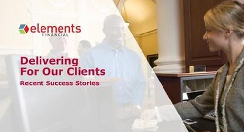 Client Success Stories: Elements Financial
