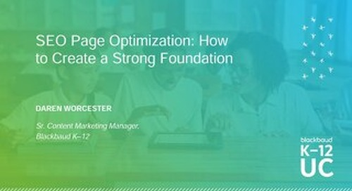 SEO Page Optimization How to Create a Strong Foundation