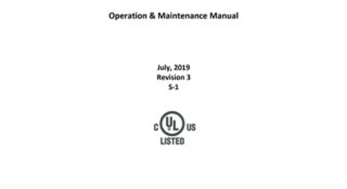 [Manual] LabGard CYTO NU-581 Class II, Type A2 Biosafety Cabinet (115V)