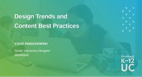 School Website Design Trends and Content Best Practices