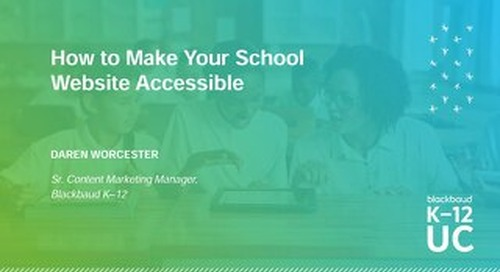 How to Make Your School Website Accessible