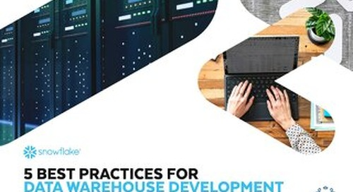 5 Best Practices for Data Warehouse Development