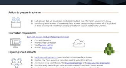 AWS Account Migration
