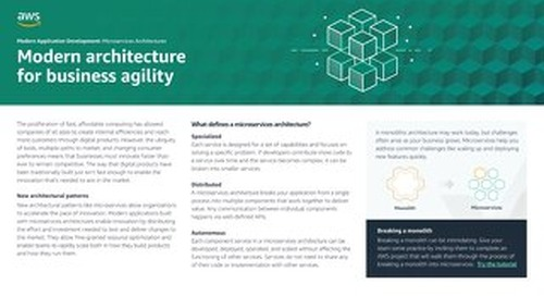 Modern Application Development: Microservices Architectures