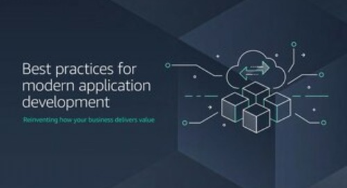 Best practices for modern application development