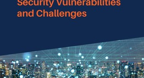 Internet of Things: Security Vulnerabilities and Challenges
