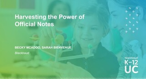 Harvesting the Power of Official Notes