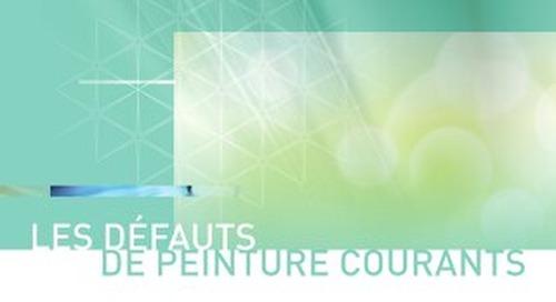Guide d'identification des défauts de peinture courants