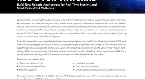 ROS 2 for VxWorks Developer Brief