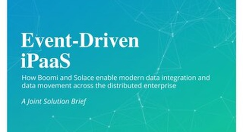 Solace + Boomi iPaas Event Driven Integration