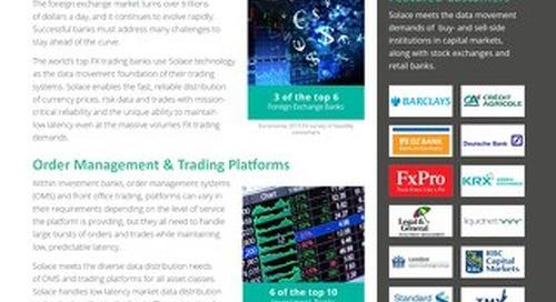 Financial Services Datasheet