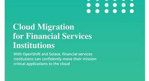Cloud Migration for FSIs with OpenShift