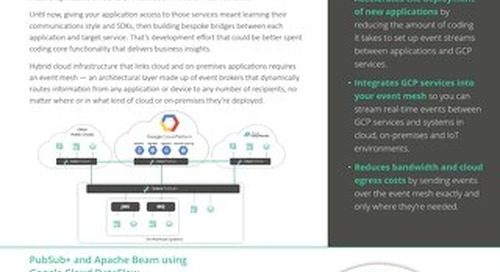 GCP Partnership Datasheet
